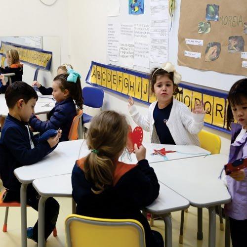 Educação Infantil no Colégio Ofélia Fonseca